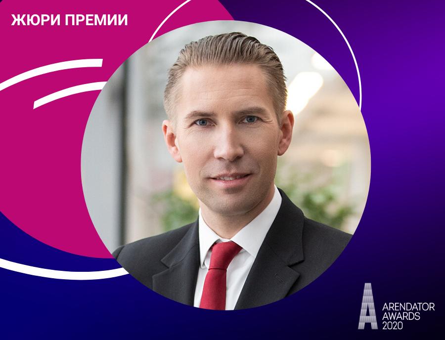 Андерс Лильенстолпе - новый член жюри Премии Arendator Awaeds 2020