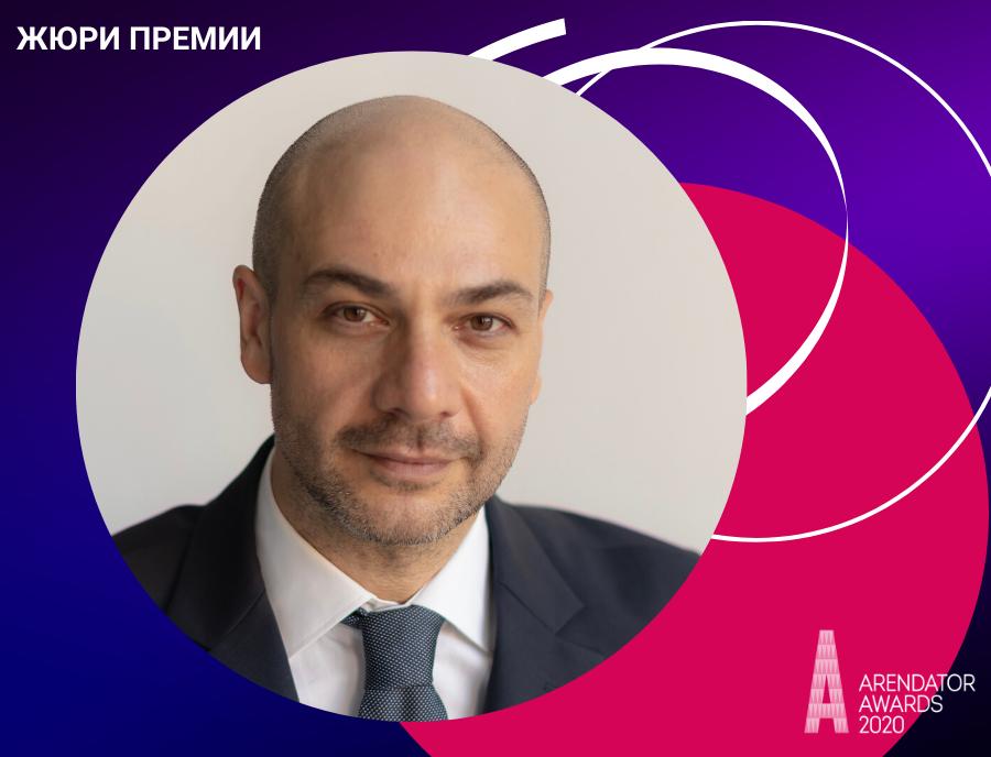 Руслан Кубрава - новый член жюри Премии Arendator Awards 2020